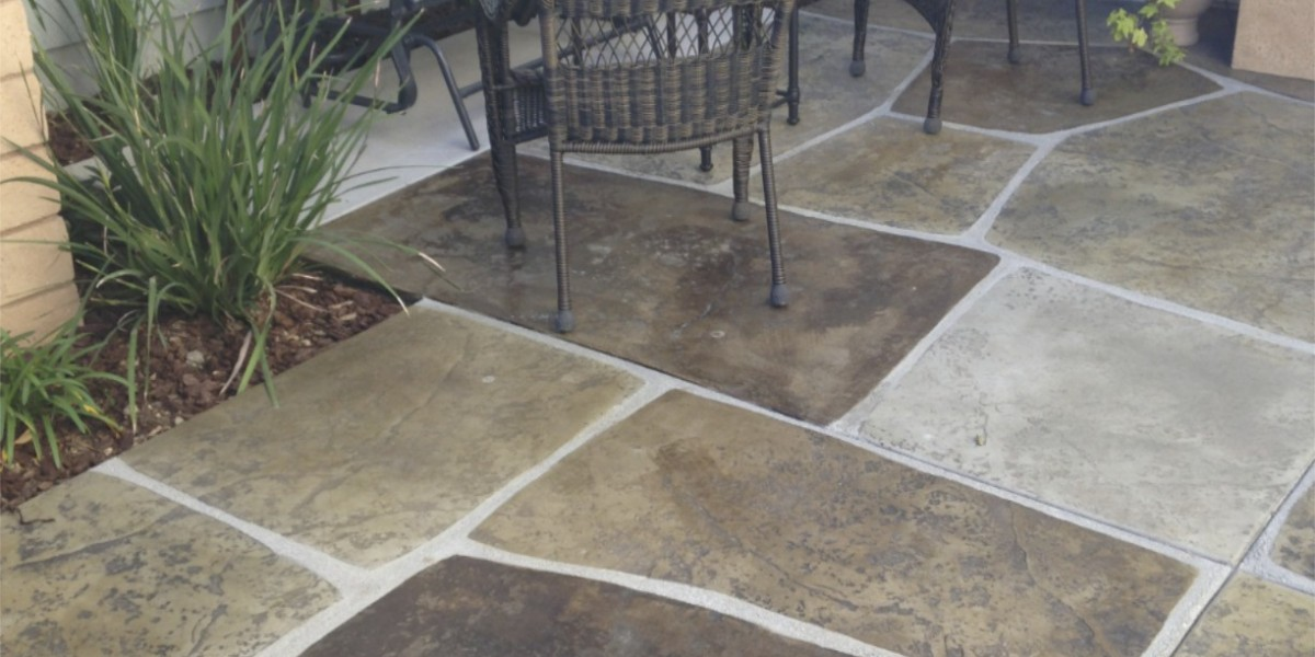 stained concrete southern California project