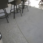 custom concrete patio projects