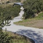 concrete road project