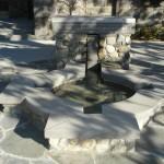 ready mix concrete fountain