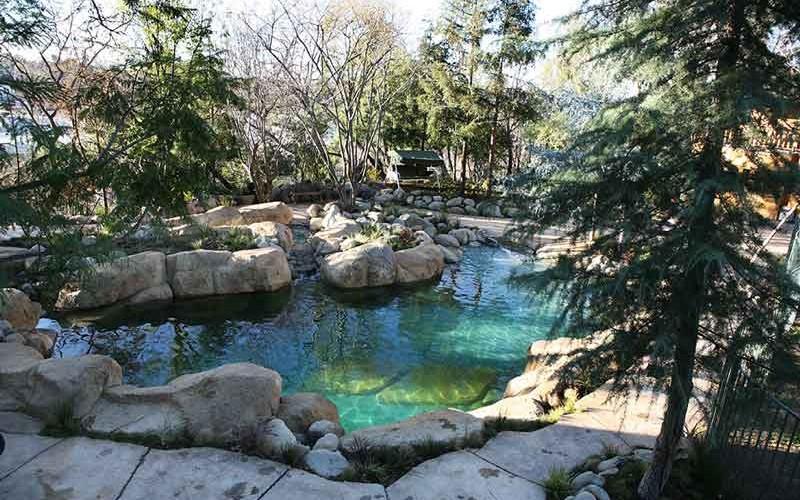 backyard pool project SRM Concrete
