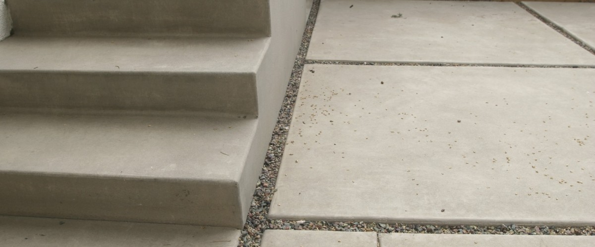 acid washed concrete
